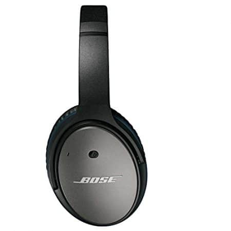 Bose QuietComfort 25 Acoustic Noise Cancelling Headphones for Apple devices - Black (Wired 3.5mm) 2