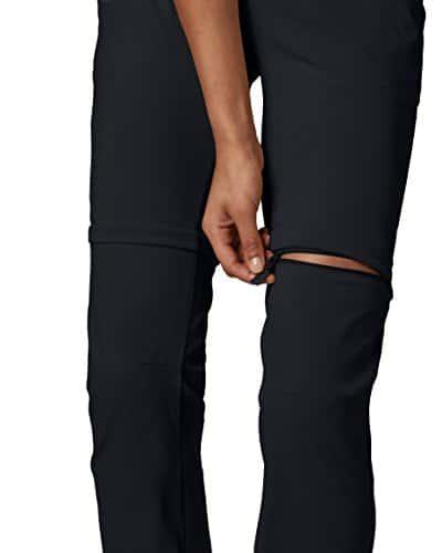 Columbia Women's Saturday Trail II Convertible Pant, Water & Stain Resistant, 12 Short, Black 4