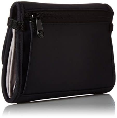 PacSafe RFIDsafe V250 Anti-Theft RFID Blocking Travel Wallet, Black 1