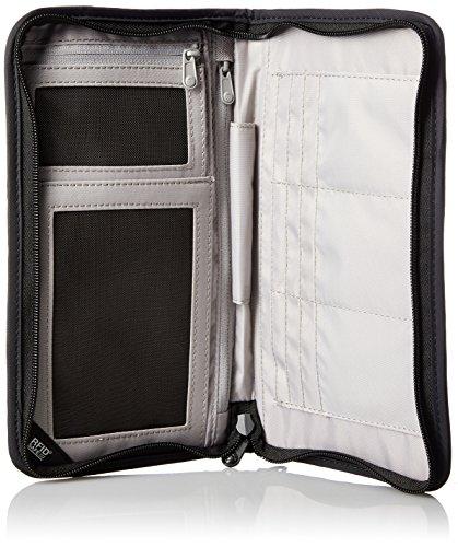 Pacsafe RFIDsafe V200 Anti-Theft RFID Blocking Travel Organizer, Black 4