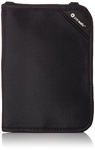 Pacsafe Rfidsafe V150 Anti-Theft RFID Blocking Compact Passport Wallet, Black 2