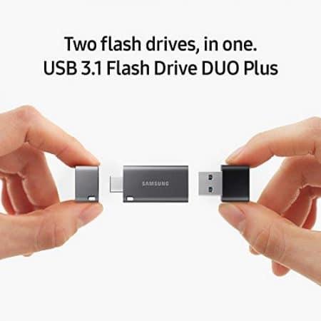 Samsung Duo Plus 256GB - 300MB/s USB 3.1 Flash Drive (MUF-256DB/AM) 1