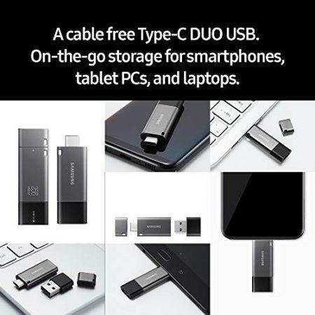 Samsung Duo Plus 256GB - 300MB/s USB 3.1 Flash Drive (MUF-256DB/AM) 4