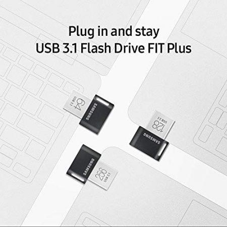 Samsung MUF-256AB/AM FIT Plus 256GB - 300MB/s USB 3.1 Flash Drive 5