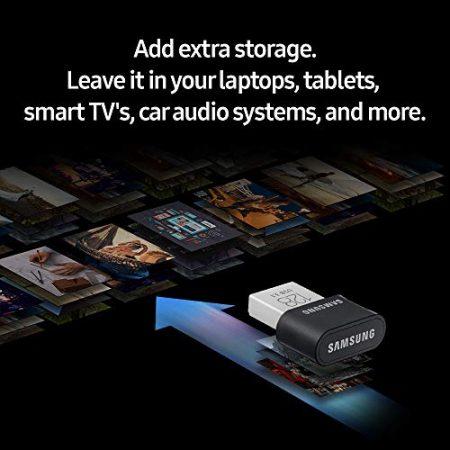 Samsung MUF-256AB/AM FIT Plus 256GB - 300MB/s USB 3.1 Flash Drive 6
