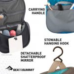 Sea to Summit Travelling Light Hanging Toiletry Bag 7