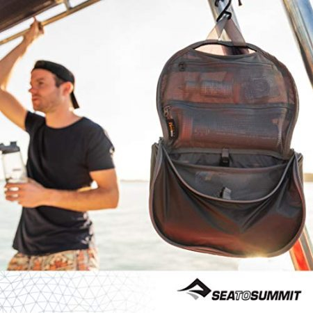 Sea to Summit Travelling Light Hanging Toiletry Bag 4