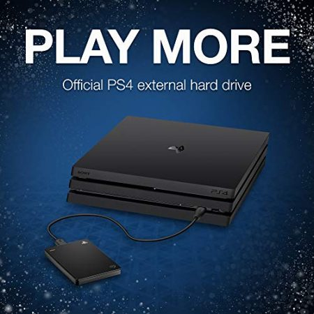 Seagate Game Drive for PS4 Systems 2TB External Hard Drive Portable HDD – USB 3.0, Officially Licensed Product (STGD2000100) 2