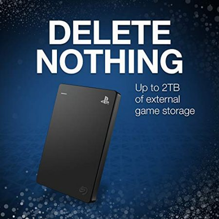 Seagate Game Drive for PS4 Systems 2TB External Hard Drive Portable HDD – USB 3.0, Officially Licensed Product (STGD2000100) 3