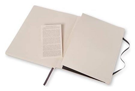 Moleskine Classic Notebook, Soft Cover, XL Dotted 2