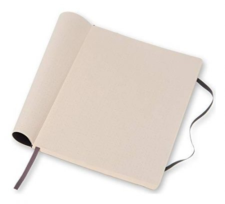 Moleskine Classic Notebook, Soft Cover, XL Dotted 3